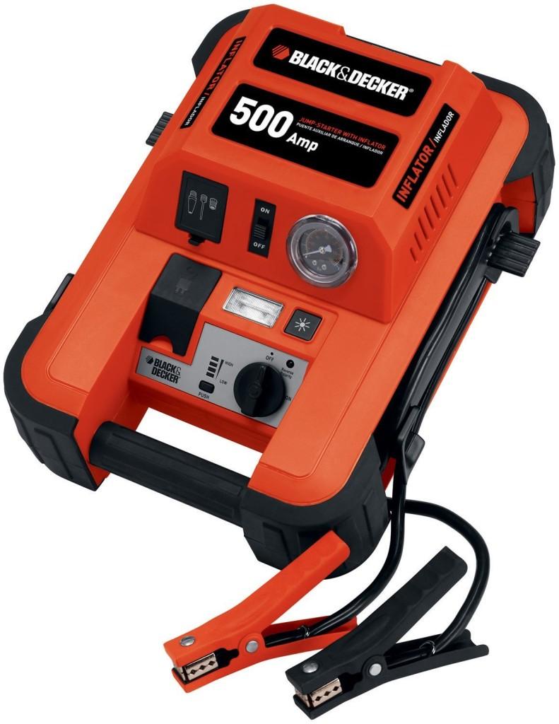 Black & Decker JUS500IB 500-Amp Jump Starter