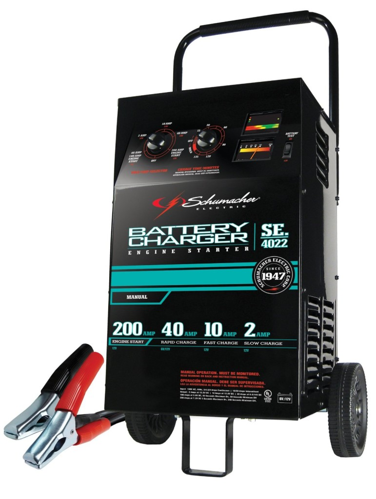 Schumacher SE-4022 Wheeled Battery Charger