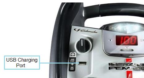 Schumacher XP2260 USB Charging Port